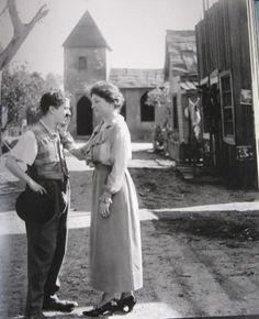 Helen Keller & Charlie Chaplin