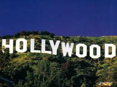 Hollywood! I know this is not in Orange county. But i grew up see it all the time