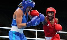 Team GB's Nicola Adams makes rusty start in defence of her Olympic title
