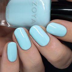 Nail Polish Society: Zoya Barefoot Summer 2019 Collection – My CMS Green Nail Polish, Green Nails, Nail Polish Colors, Summer Gel Nails, Spring Nails, Pastel Nails, Acrylic Nails, Natural Nails, Toe Nails