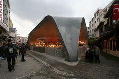 Besiktas Fishmarket / GAD Location: Istanbul, Turkey