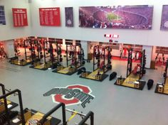 Ohio State Rooms | Ohio State Strength and Conditioning