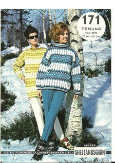 Femund 171 Stirrup Pants, Vintage Knitting, Color Combinations, Knitting Patterns, Avengers, Men Sweater, Crochet Hats, Retro, Sweaters