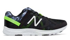 Vazee Transform Graphic Trainer, Black with Lime Glo & Grey