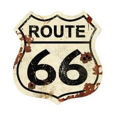 Route 66 Street Signs Shield Metal Sign***Research for possible future project.