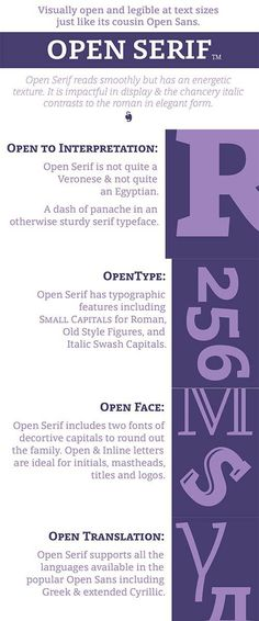 Open Serif by Matteson Typographics