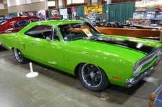 The Plymouth Road Runner was a muscle car built by the Plymouth division of the Chrysler Corporation in the United States between 1968 and 1980.