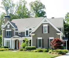Exterior House Colors red Only | potential exterior house colors pinned via pinmarklet