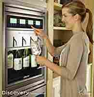 """Amazon.com: Dacor DYWS4 Discovery 20"""" WineStation 4-Bottle Wine Dispenser with Thermo-Electric Cooling System: Appliances"""