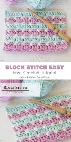 The Block Stitch is Easy! How to Crochet it?, The Block Stitch is Easy! How to Crochet it? – Your Crochet. Crochet Afghans, Crochet Blanket Border, Crochet Borders, Blanket Stitch, Crochet Stitches Patterns, Crochet Patterns For Beginners, Crochet Edgings, Crochet Cushions, Crochet Pillow