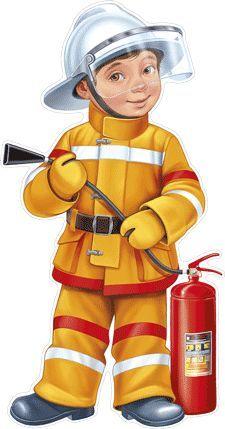 Империя Поздравлений - - Community Workers, Community Helpers, Fire Prevention Week, People Who Help Us, Fireman Party, Teaching Aids, Illustrations And Posters, Cartoon Kids, Preschool Crafts