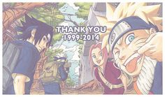 Naruto, 1999-2014. It's been a wonderful 15 years. I'm still trying to get over the fact that it's over though....