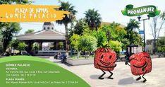 En #Promanuez te recomendamos visitar la Plaza de Armas de Gómez Palacio, un bonito lugar al aire libre donde podrás disfrutar de una caminata con tu pareja, salir con tus amigos o pasar un rato en familia.
