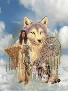 FULLCANG indians and wolf diamond needlework diy diamond painting cross stitch full square mosaic embroidery kits Native American Wolf, Native American Paintings, Native American Pictures, Native American Symbols, Native American Beauty, Native American Artists, American Indian Art, Native American History, Native Art