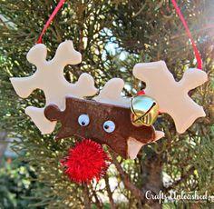 DIY Halloween : DIY Make Reindeer Ornaments