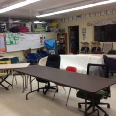 No desk classroom. All alternative seating contributes to student learning. #classroom #teacher #education