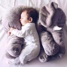 Baby Soft Plush Elephant Sleep Pillow Kids Lumbar Cushion Toys Large Size Gifts in Baby, Toys for Baby, Plush Baby Toys Kids Sleep, Baby Sleep, Baby Baby, Baby Toys, Kids Toys, Toddler Sleep, Child Baby, First Baby, Elephant Peluche
