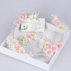 >> Click to Buy << 3pc/set Women Wedding haar hair accessories bridal flowers wreath headband &hair comb Crown Korean girls garlands #Affiliate