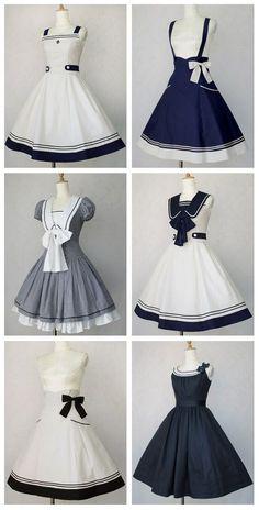I really like vintage dresses Pretty Outfits, Pretty Dresses, Beautiful Dresses, Cool Outfits, Scene Outfits, Beach Outfits, Amazing Outfits, Elegant Dresses, Kawaii Fashion