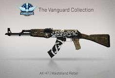 Counter-Strike Global Offensive: The Vanguard Collection: AK-47 Wasteland Rebel