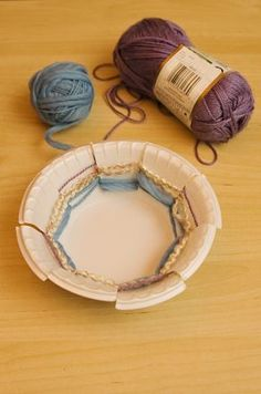 I used this during my Native American study with 4th grade. My students LOVED making woven baskets!!  Must have an odd number of flaps for this to work out properly.
