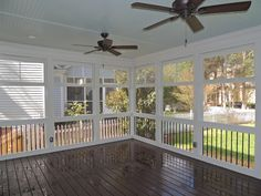 Check out this stunning enclosed deck built by Exterior Additions of Indian Trail, North Carolina featuring Trex Transcend decking in Vintage Lantern.  Get the best of both the indoors and outdoors.