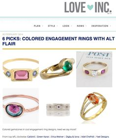 Gorgeous ring by @Yael Designs featured by @Love Inc. !