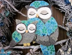 © Bridgit's creativity- Quilled owl pictures (Searched by Châu Khang)