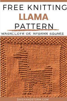 Knitted Washcloth Patterns, Knitted Washcloths, Dishcloth Knitting Patterns, Knit Dishcloth, Knitting Charts, Easy Knitting, Crochet Patterns, Block Patterns, Stitch Patterns