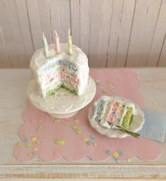 Miniature Birthday Confettie Cake