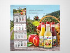 © designstuuv.de | 2015 Gestaltung Kalender für Auricher Süssmost GmbH | http://designstuuv.de/portfolio/auricher/