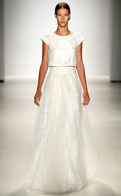 Tadashi Shoji from Best Looks From New York Fashion Week Spring 2015 | E! Online