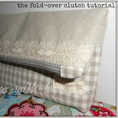 Zipped Up Tight Clutch | AllFreeSewing.com