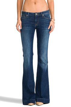 Hudson Jeans Ferris Flare in Satyricon from REVOLVEclothing