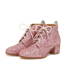 good genes booties - pink glitter from ban.do