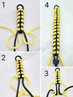 DIY Beaded Bracelets You Should Make Bead Crafts Lovers - Paracord - . - DIY Beaded Bracelets You Should Make Bead Crafts Lovers – Paracord – # - Diy Beaded Bracelets, Diy Bracelets Easy, Bracelet Crafts, Bracelets For Men, Braclets Diy, Diy Friendship Bracelets How To, Bracelet Crochet, Macrame Bracelet Diy, Macrame Knots