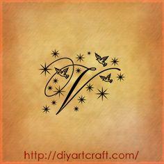 V-tattoo-passeri