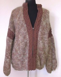 #PlusSize #3X #Knitted #Wool #Cardigan #Sweater #Jacket #Fashion #Apparel #Shopping #eBay