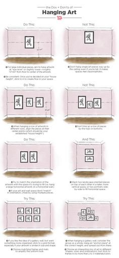As a designer, poorly hung art is probably my number one design bugbear. Our pictorial guide to hanging art like a pro will help you avoid many all-too-common design pitfalls.