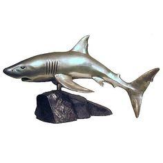 Great White Shark - Silver, Bronze Collection BR23087