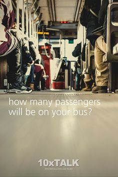 Speaking is like getting on the bus.  The bus is your presentation.   You are the driver.   The passengers are the audience.    Learn more about how your presentations are not about you, but about the audience.