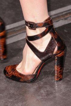 Christian Louboutin Ankle Strap Heels