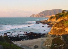 Beach Scenery Digital Watercolor June 2015-28112 by MSchmidtPhotography.deviantart.com on @DeviantArt