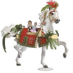 Nutcracker Prince Holiday Horse