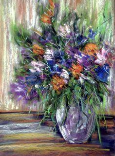 em-er-ka / Kytica Pastel, Painting, Art, Cake, Painting Art, Paintings, Kunst, Paint, Draw