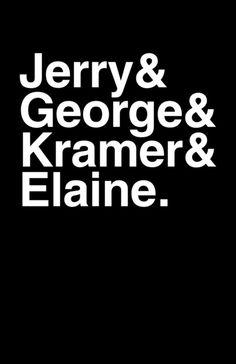 Seinfeld - Minimal TV Poster by Bill Pyle #minimaltvposter #alternativetvposter #billpyle