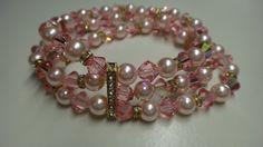 Check out this item in my Etsy shop https://www.etsy.com/es/listing/249410669/beaded-bracelet-swavorski-bracelet