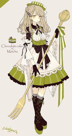 """赤倉さんのツイート: """"抹茶チョコケーキさん… """""""