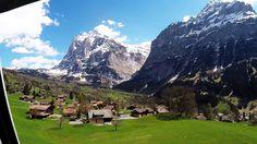 My trip from Zurich via Interlaken to grindelwald first, Switzerland 2017
