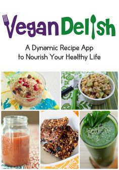 Looking to clean up your diet? Try the Vegan Delish recipe app for your iPhone or iPad for healthy, plant-based meals. #vegandelish